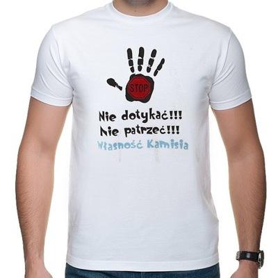 Koszulka T-shirt - Własność Kamisia- rozm M