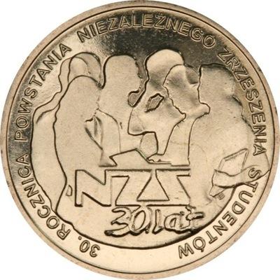 Moneta 2 zł Powstanie NZS