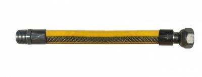 Wąż do gazu elastyczny przewód 200cm / 2m N-W WZ