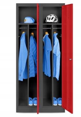 МЕТАЛЛИЧЕСКАЯ охраны ТРУДА шкаф социальная шкаф для одежды  НОВАК