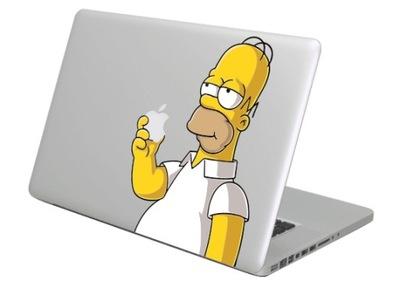 Naklejka na MacBooka Maca Apple