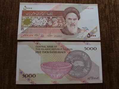 002.IRAN 5000 RIELI UNC