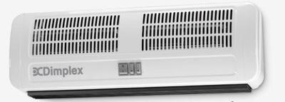 DIMPLEX AC 6N hlavové airbagy, 3 - 6 kW 230 V 90