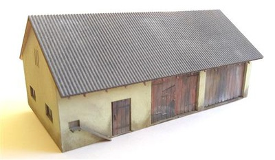 Конюшня хлев сарай с Крыша eternit плоский