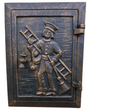 Dvere do kachlí, kominár, liatinová PROM