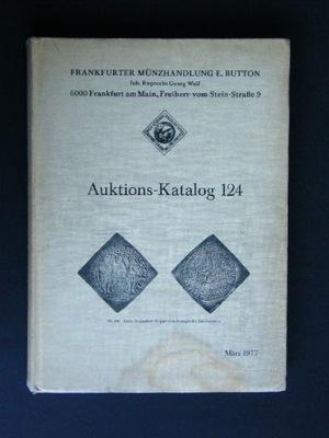 AUKTIONS KATALOG 124 MARZEC 1977 FRANFURKT