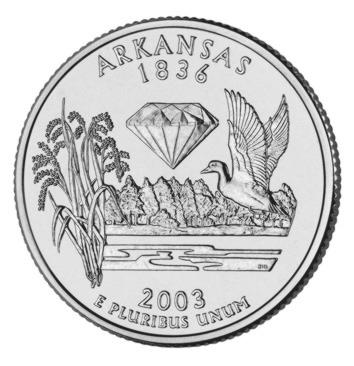 Stany USA - Arkansas 2003