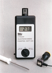 Detektor kablov - Tanel vlhkosti vzduchu WCPT-100E