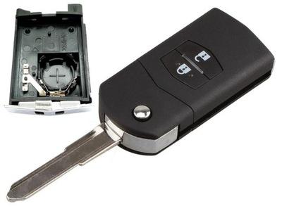 Корпус Пульт Ключ MAZDA 2 3 5 6 CX-7 RX-8 bat2