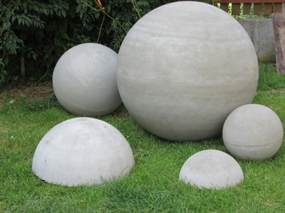 Kula betonowa, kule betonowe śr 80 cm