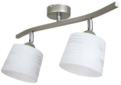 Luster / stropná Lampa 2 IGA alebo lesklý satén