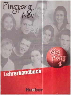 Pingpong Neu 1 Lehrerhandbuch niemiecki NOWA