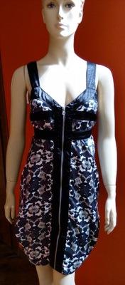 Oryginalna sukienka duże kieszenie ICHI 36/S