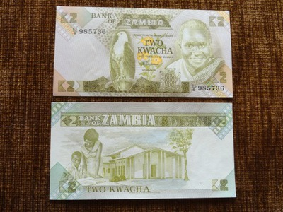 219.ZAMBIA 2 KWACHA UNC