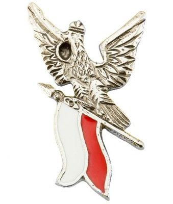 Pin застежка wpinka Марку Орел, с флагом