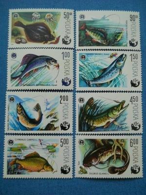 Polska - ryby - 100 lat wędkarstwa - Mi.2470-77 **
