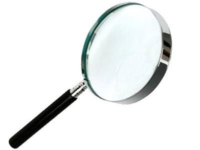 БОЛЬШАЯ ЛУПА стекло линза - линза стеклянная