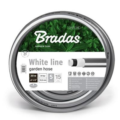 """Príslušenstvo pre postrekovač - Záhradná hadica WHITE LINE 1/2 """"50m Bradas"""