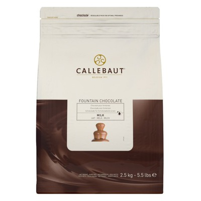 Шоколад Callebaut молочное ??? фонтанов 2 ,5кг