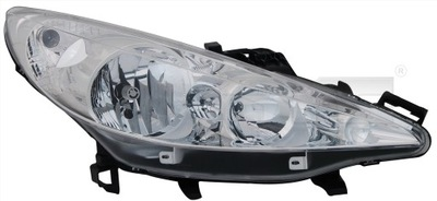 REFLEKTOR LAMPA TYC PEUGEOT 207 SW (WK_)