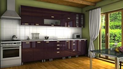 Meble szafki kuchenne GRAND KORFU kuchnia 3,0m