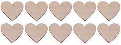 деревянные сердце - то 2x2cm 10 штук декупаж украшение