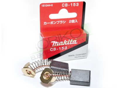 Drôtená kefa, kotúč - Uhlíkové kefy Makita CB153 CB-153 ORIGINAL !!