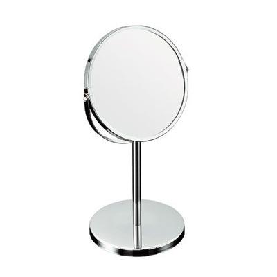 Zrkadlá (LED) ZRKADLO KÚPEĽŇA KOZMETICKÉ NOHA CHROME