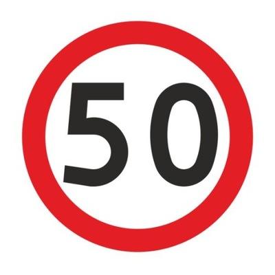 Дорожный знак B33 Ограничение скорости 400мм typI