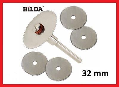 Tarcze do drewna 32 mm DREMEL 5 szt. zestaw HILDA