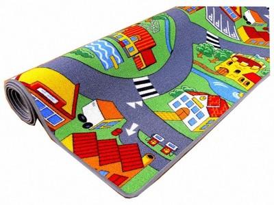Koberec do detskej izby - Koberec FLOOR STREET WĘŚŚ cesta 200x250 Village