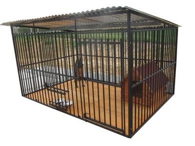 укрепленный манеж для собаки 3x2, манежи