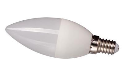 Лампа LED E14 SMD 2835 ТЕПЛО 8W 750lm Свеча