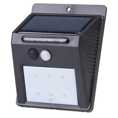 Внешняя вспышка Стены Солнечная LED датчик движения
