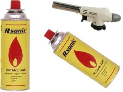 Teplovzdušná pištoľ - -40% GAS HURNER HAND: 1300 NOVÝ MODEL + 2XGAZ