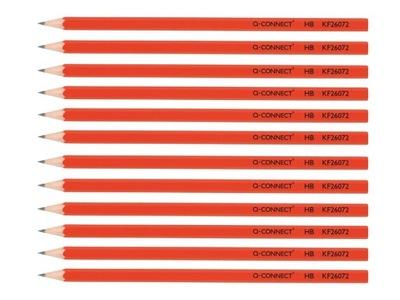 Ołówek Ołówki drewniane 12 sztuk Q-Connect