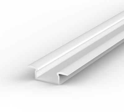 Выпускают Алюминиевый ПРОФИЛЬ LED +АБАЖУР 2м | Белый
