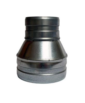 Zníženie 125/105 hadice kapota spiro potrubia aluflex