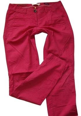 Spodnie czerwone damskie Tom Tailor r.2934