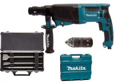 Vŕtacie kladivo - Nové vŕtacie kladivo Makita HR2631FT s LED a AVT