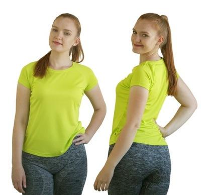 T-SHIRT Sportowy FITNESS Koszulka Termoaktywna S