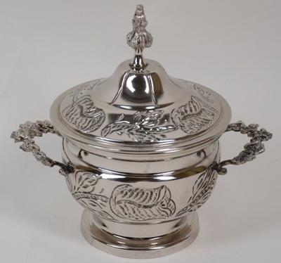 красивая маленькая Ваза серебро Испания - 84