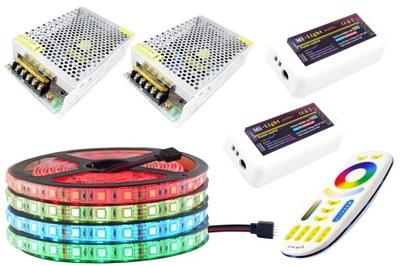 Osvetlenie nábytku LED pás - ZESTAW LED 300 RGB 5050 IP65 Mi-Light PREMIUM 20m