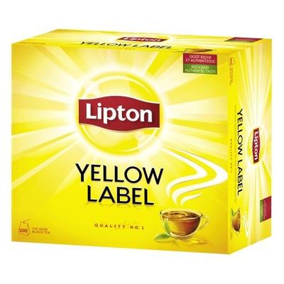 Липтон Yellow Label Tea черная чай 100tb 200г