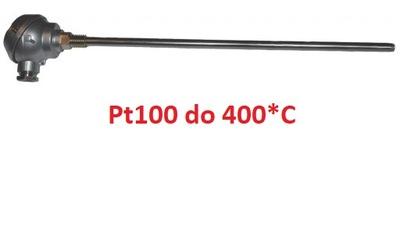 датчик pt100 с головкой  ???  400 * C pt-100
