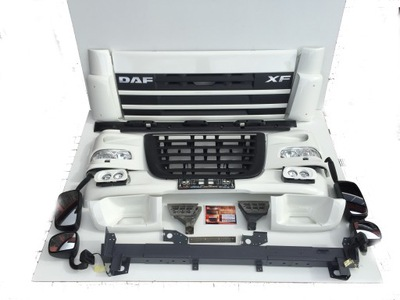 daf xf 105 бампер решетка lampa капот brutto3