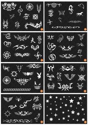 Zestaw Do Tatuażu Z Henny Henna Katalog Wzorów