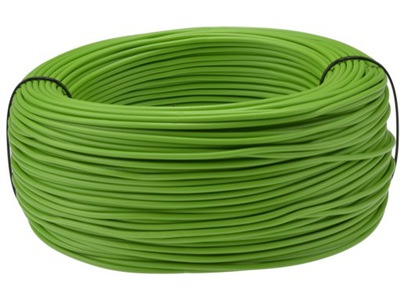 Kábel, drôt, kábel LGY 0,35mm2 zelená 100m