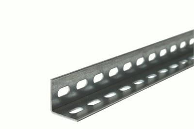 Уголок перфорированный 35x35x2000x2 стеллаж металлический