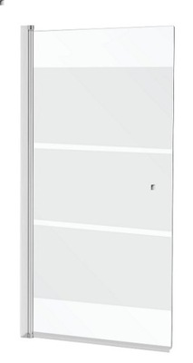 Sprchové dvere - VLASOVÝ OBRAZ 140x70 140/70 mlieko